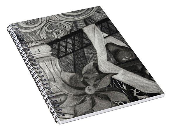 Perpeptual Pinwheel Spiral Notebook