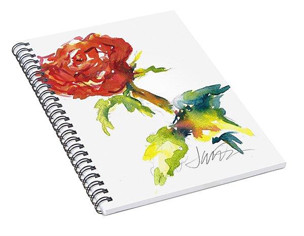 The Phoenix Rose Spiral Notebook