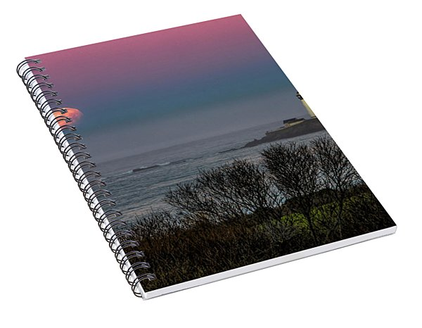 Pigeon Point Supermoon Spiral Notebook