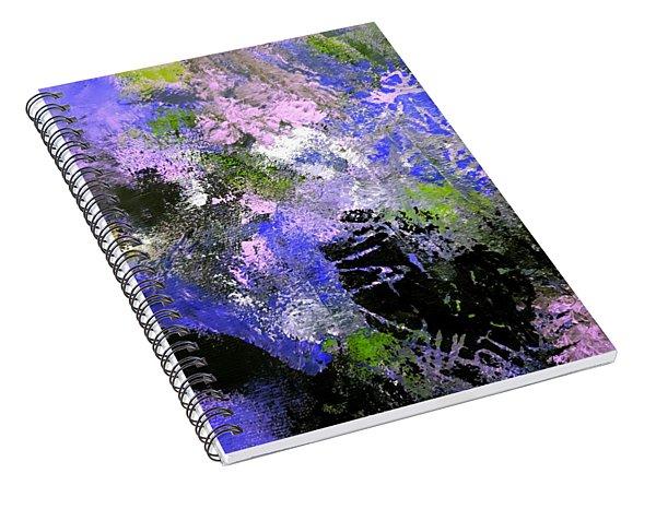 Pink Carnations Spiral Notebook