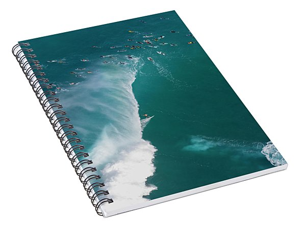Pipe Tube Overvew Spiral Notebook