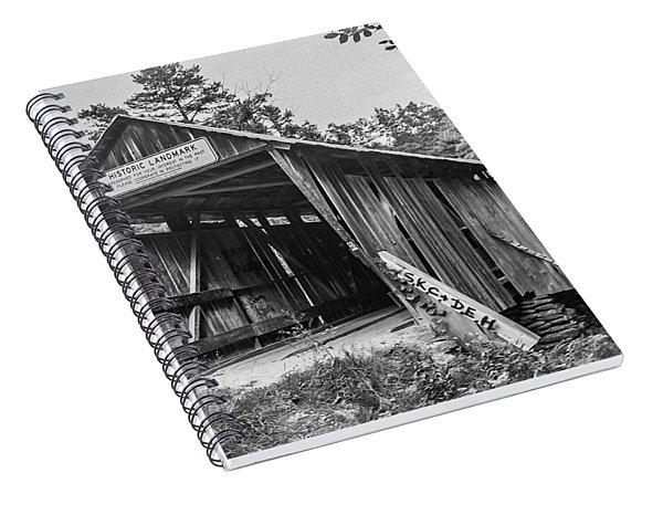 Pisgah Covered Bridge No. 1 Spiral Notebook