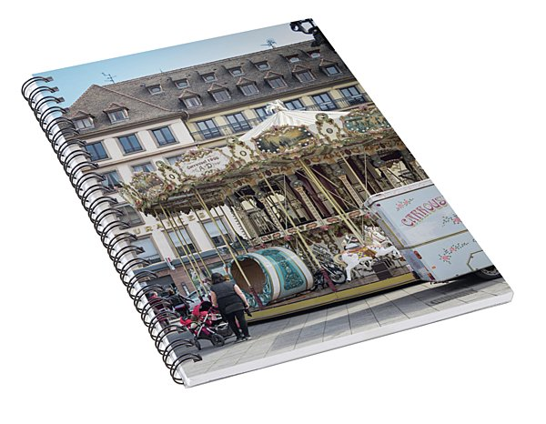 Place Gutenberg Carrousel Spiral Notebook