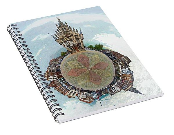 Planet Gouda Spiral Notebook