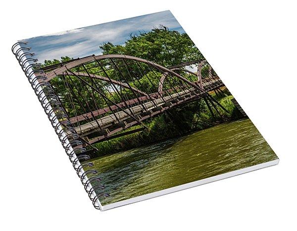 Platte River Bridge Spiral Notebook