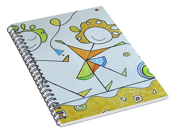 Play With Me Spiral Notebook