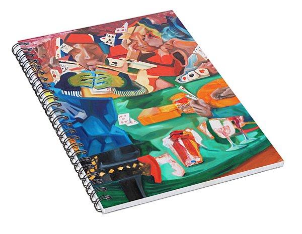 Poker Night Spiral Notebook