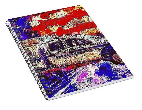 Police Truck Spiral Notebook
