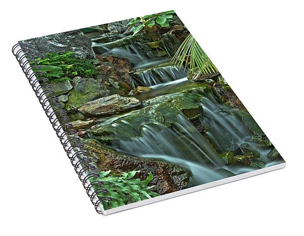 Pond@muttart Spiral Notebook