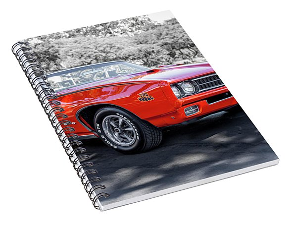 Pontiac G T O Judge Convertible Spiral Notebook