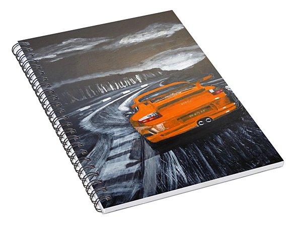 Porsche Gt3 @ Le Mans #3 Spiral Notebook