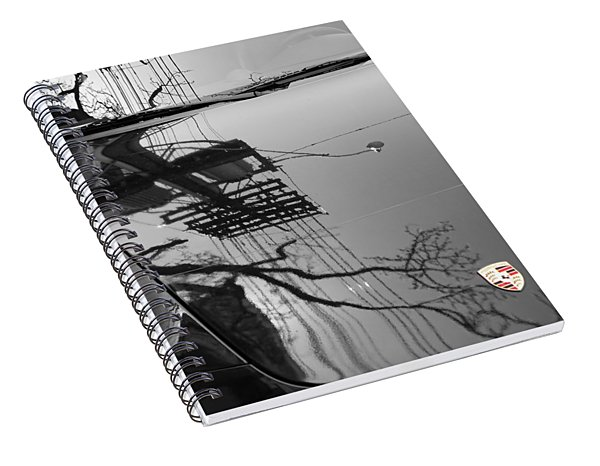 Porsche Reflections Spiral Notebook