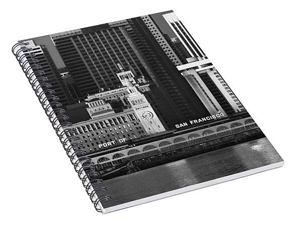 Port Of San Francisco Spiral Notebook