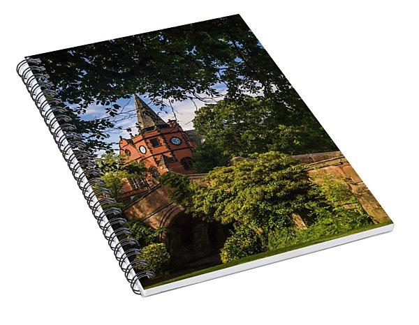 Port Sunlight Village In Summer Spiral Notebook
