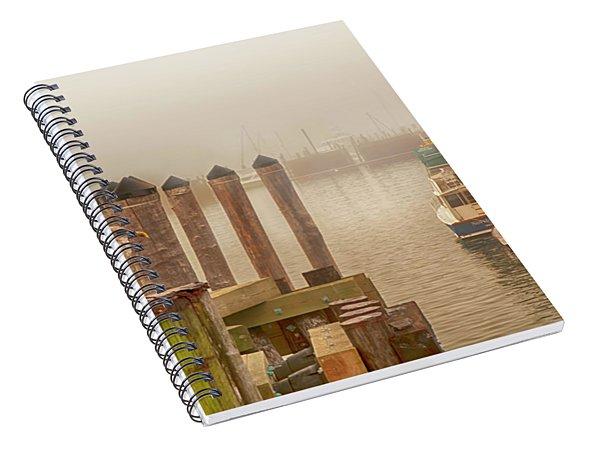 Portland Harbor Morning Spiral Notebook