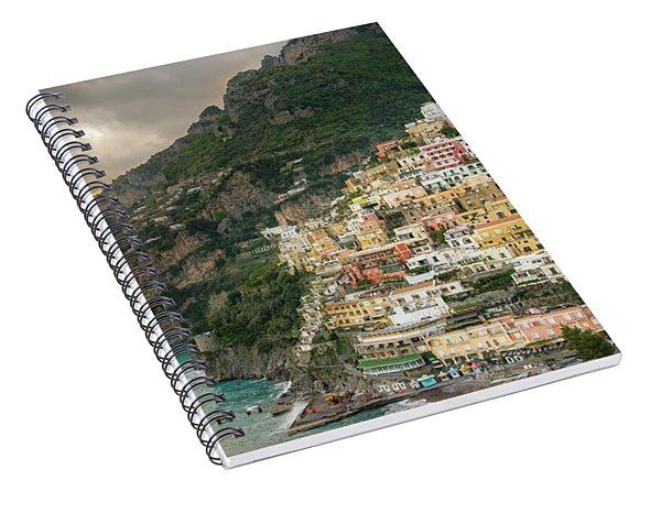 Positano Sunset Spiral Notebook