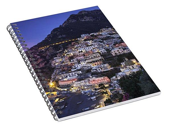 Positano Twilight Spiral Notebook