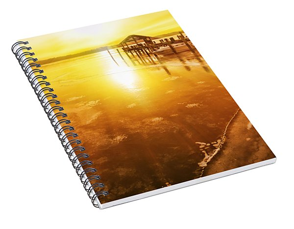 Potomac In Old Town Alexandria Spiral Notebook