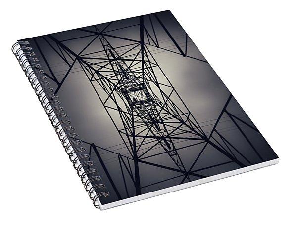 Power Above Spiral Notebook
