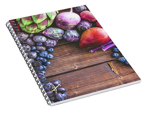Power Of Purple Spiral Notebook