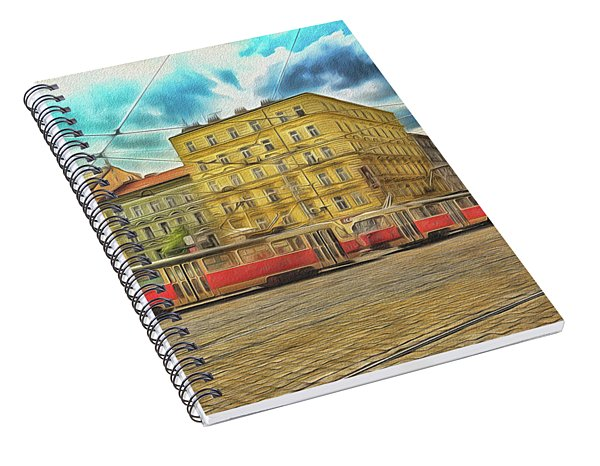 Prague Spiral Notebook