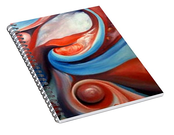 Prelude To A Kiss Spiral Notebook
