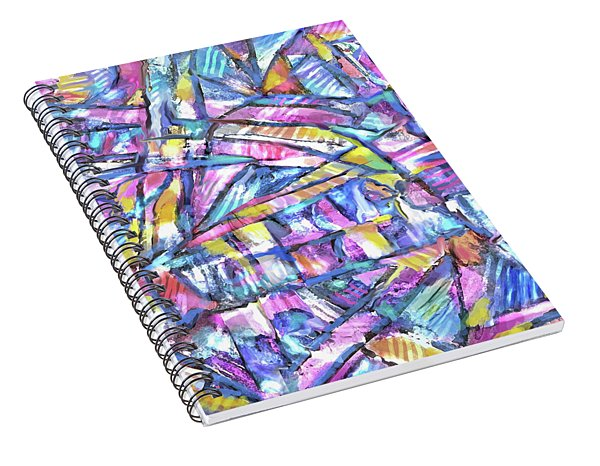 Prism Light Spiral Notebook