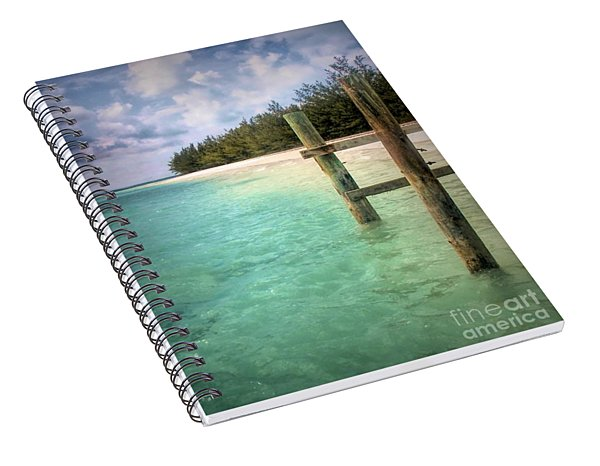Private Out Island In The Bahamas Spiral Notebook