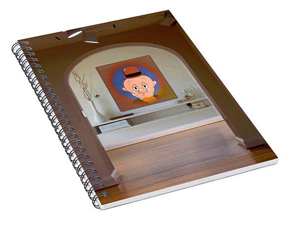 Profile Elmer Fudd Spiral Notebook