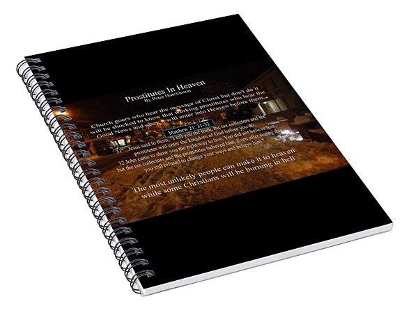 Prostitutes In Heaven Spiral Notebook
