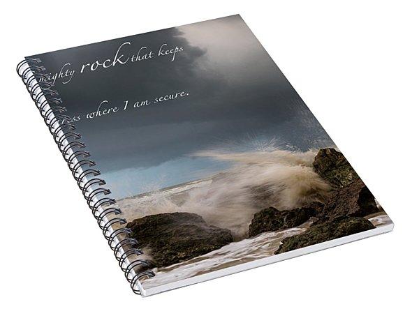 Psalm 62 2 Spiral Notebook