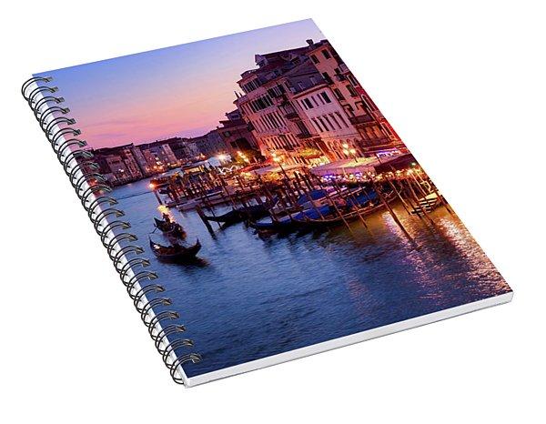 Pure Romance, Pure Venice Spiral Notebook