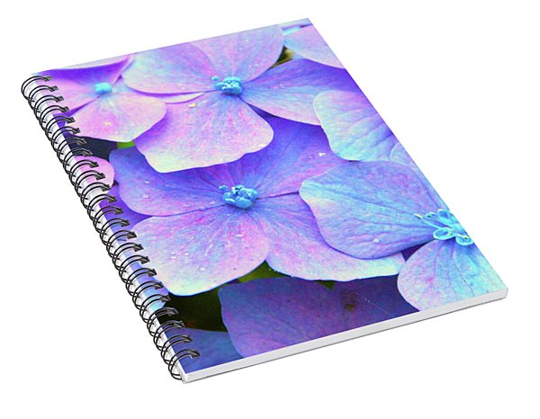 Purple Hydrangeas Spiral Notebook