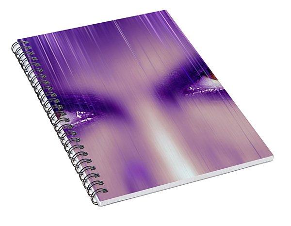 Purple Rain Purple Rain Spiral Notebook