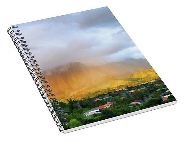 Puu Alii With Rainbow Spiral Notebook