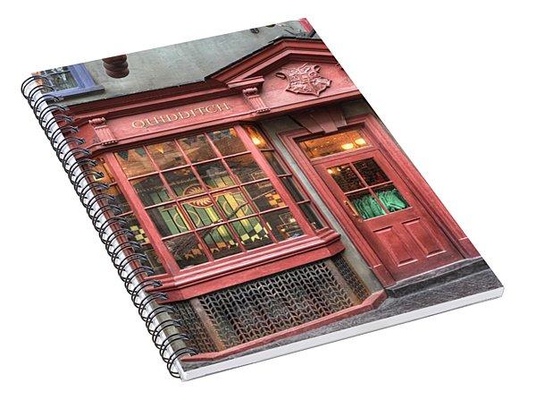 Quality Quidditch Supplies Spiral Notebook