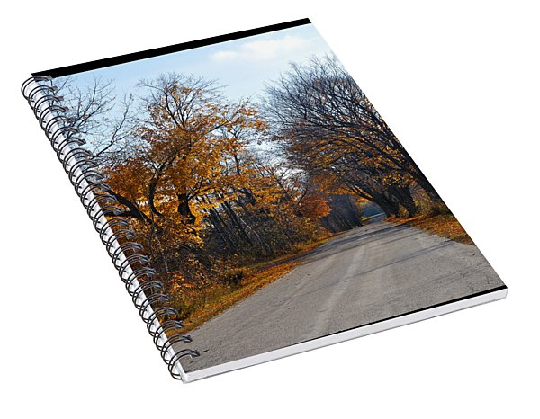 Quarterline Road Spiral Notebook