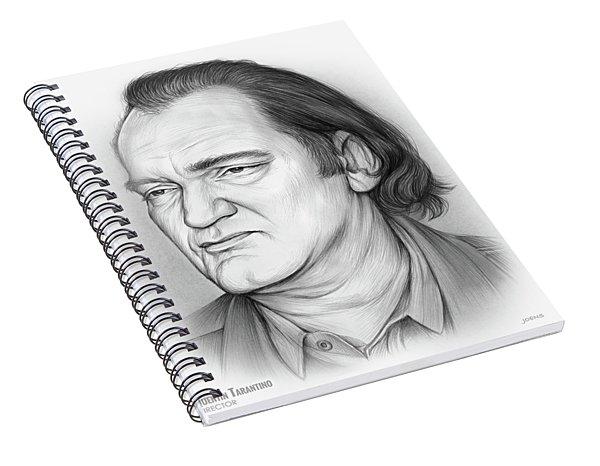 Quentin Tarantino Spiral Notebook