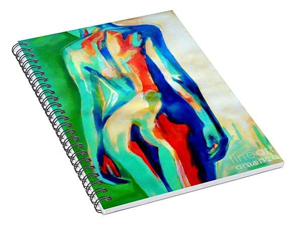 Quiet Nude Spiral Notebook