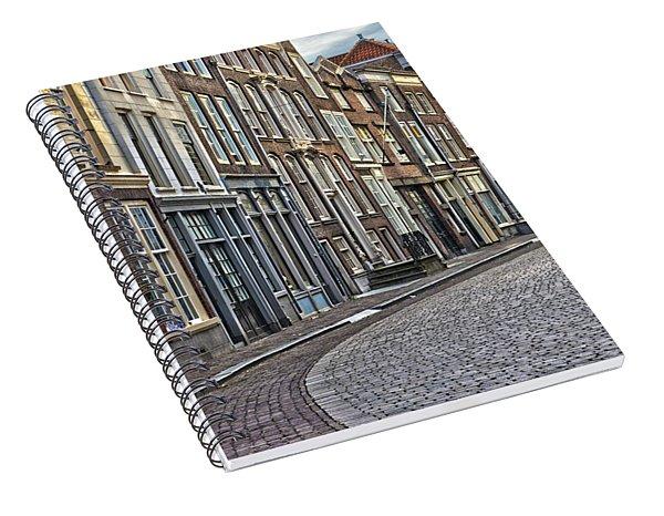 Quiet Street In Dordrecht Spiral Notebook
