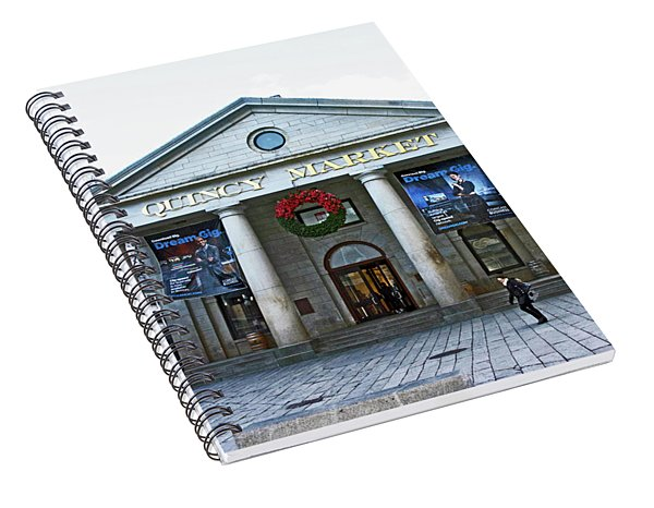 Quincy Market Building Spiral Notebook