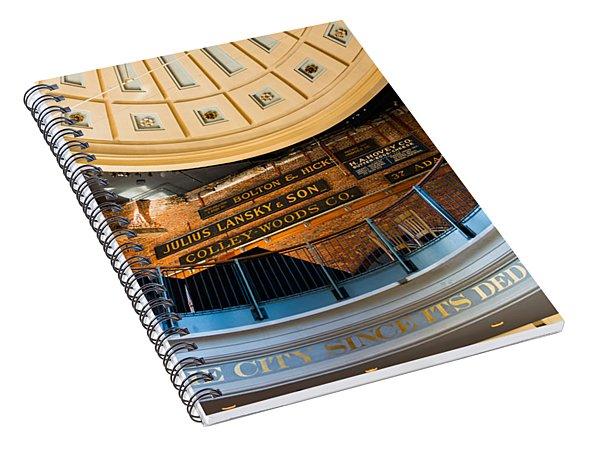 Quincy Market Vintage Signs Spiral Notebook