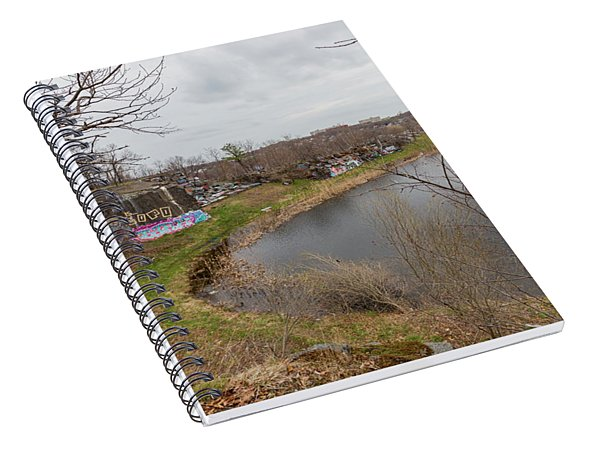 Quincy Quarries 3 Spiral Notebook