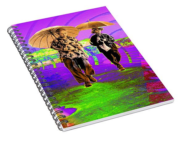 Radiating In The Sun Spiral Notebook