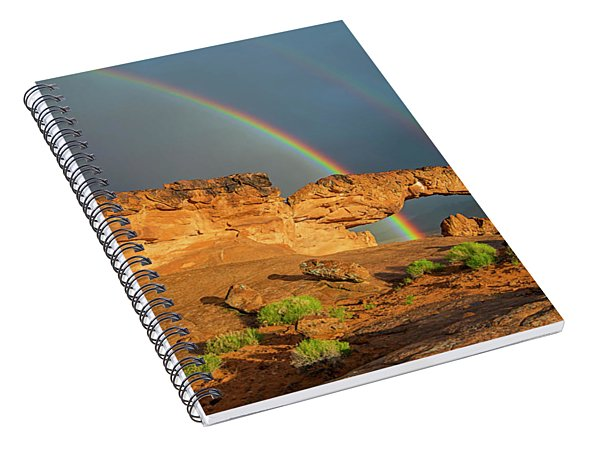 Rainbow Arch Spiral Notebook