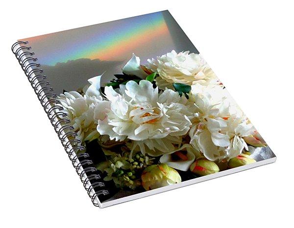 Rainbow Buds N' Blooms One Spiral Notebook