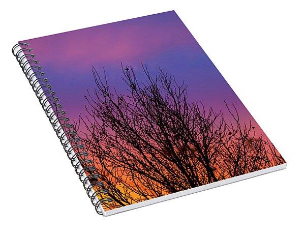 Rainbow Clouds Spiral Notebook