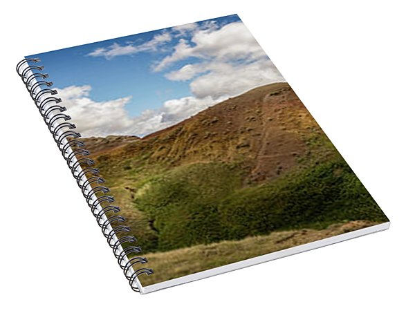 Rainbow Mountain Spiral Notebook