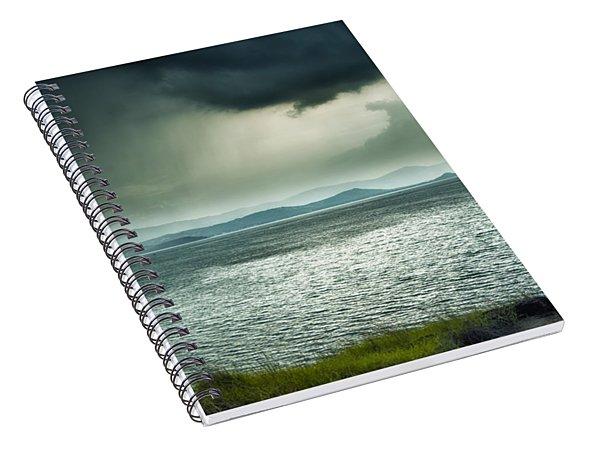 Rainy Mood Spiral Notebook