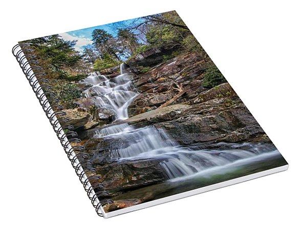 Ramsey Cascades - Tennessee Waterfall Spiral Notebook